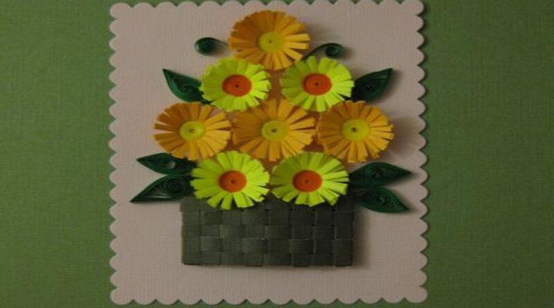 Букет из бумажных цветов для мамы станет прекрасным подарком для мамы или бабушки на 8 Марта. Для этого понадобится совсем немного времени и материалов. Изготовление такого подарка несложное